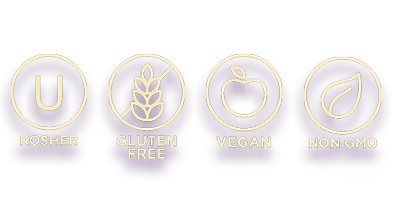 Kosher, Gluten Free, Vegan, and Non GMO