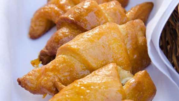 Medjool Date and Walnut Croissants