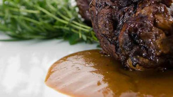 Roast Lamb with Medjool Date Sauce