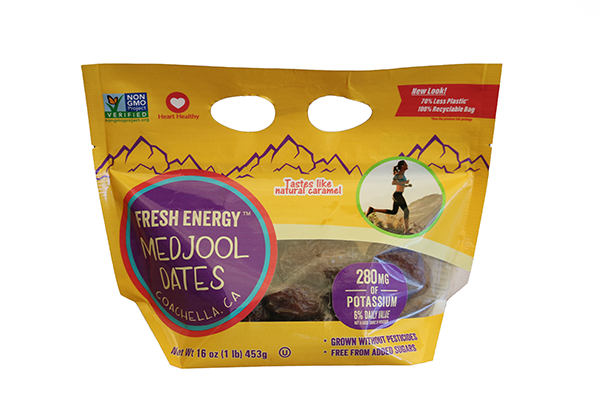 Fresh Energy 100% Recyclable One-Pound Date Bag